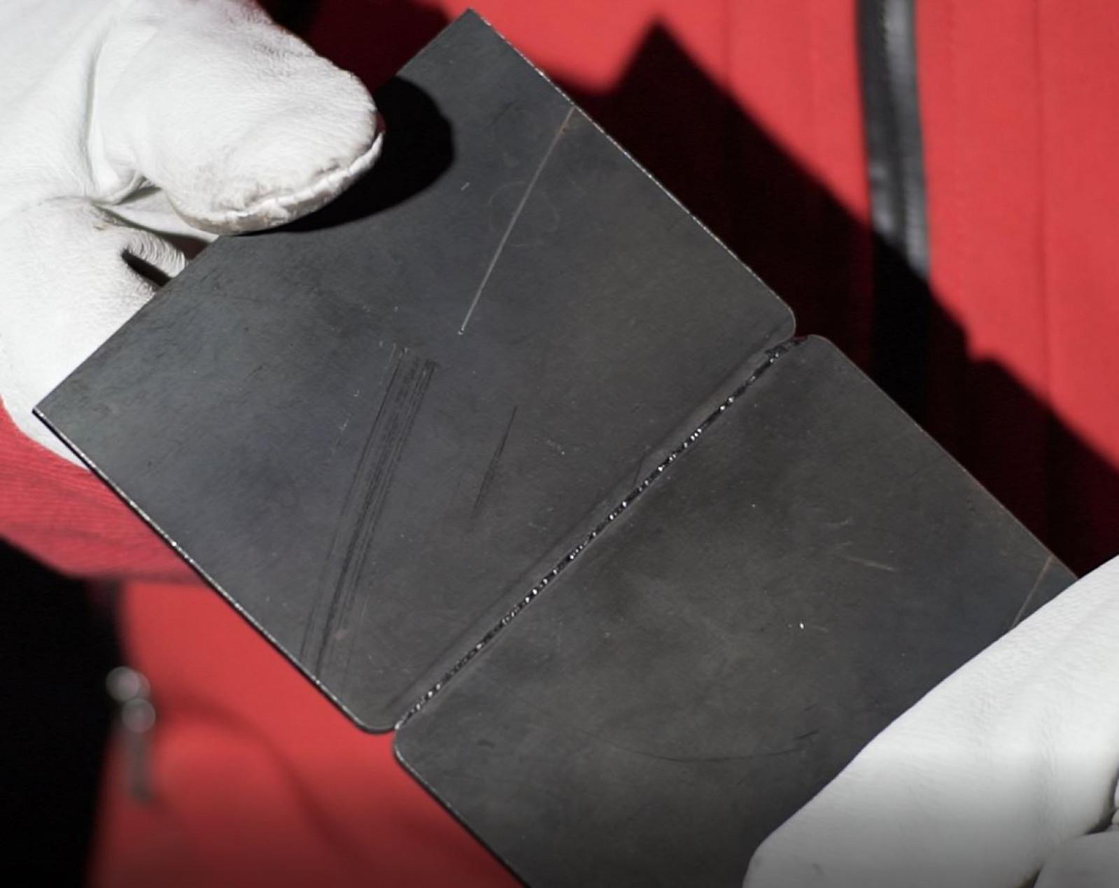 Sučeoni spoj - Konstrukcioni čelik 3mm